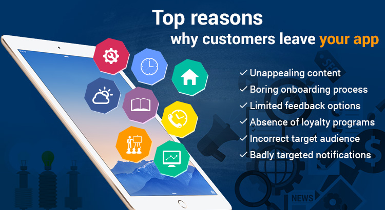 Why customer leave your app