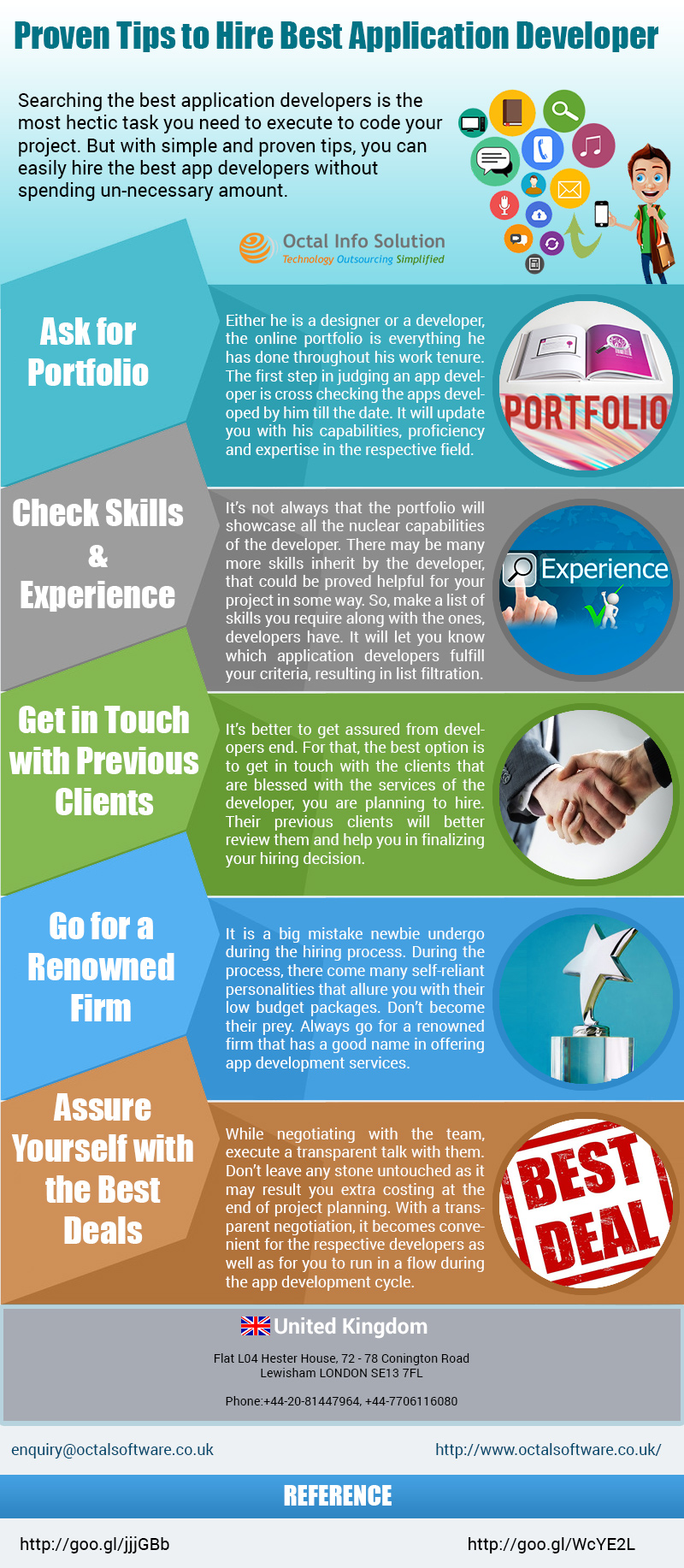Tips to Hire Best Application Developer [Infographic]
