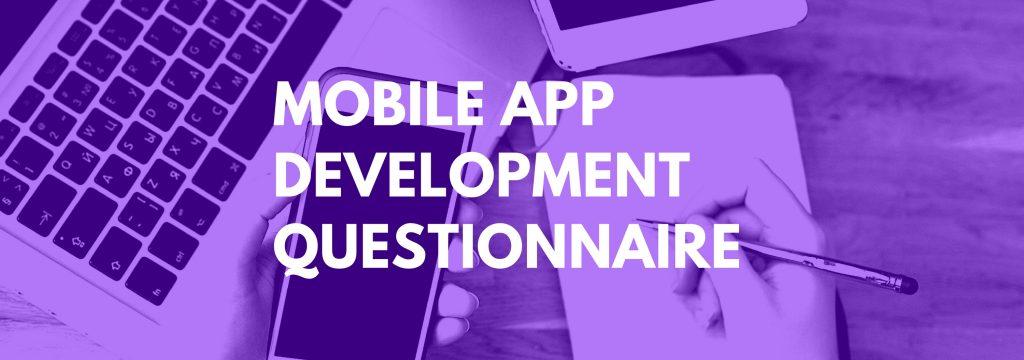 Mobile-App-Development-client-Questionnaire