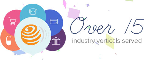 Over 15 Industry Verticals